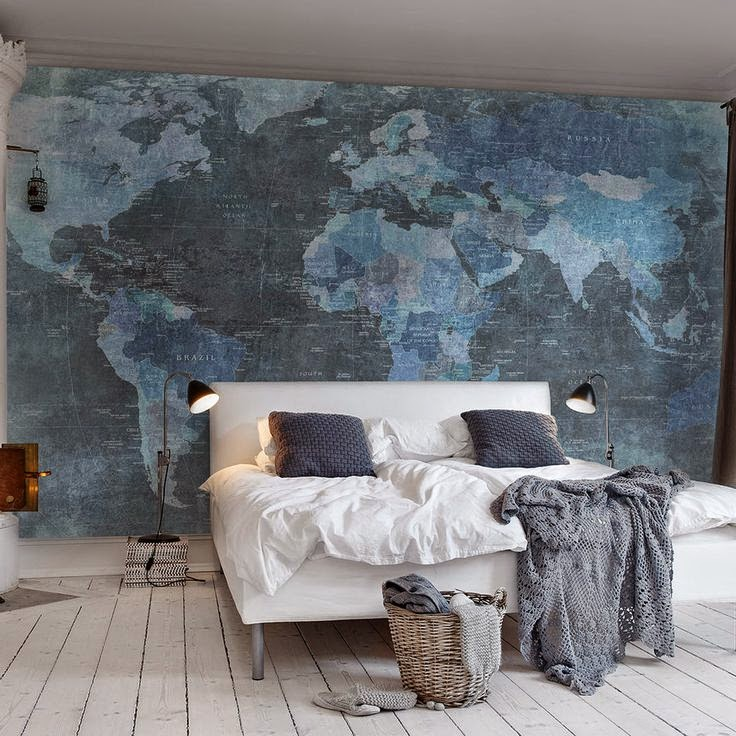 Decorating with Maps - 25 Ideas