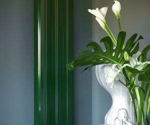 Deep Green Color Trend