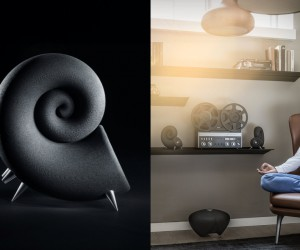 Deeptime Spirula Speakers
