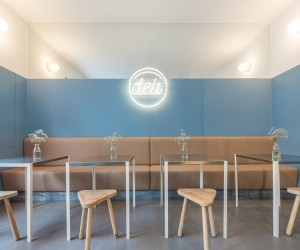 Deli Caf in Lisbon by DC.AD
