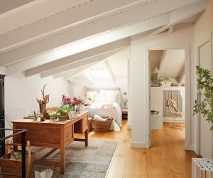 Delicate attic in Spain
