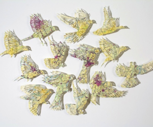 Delicate Paper Sculptures Made Out Of Maps