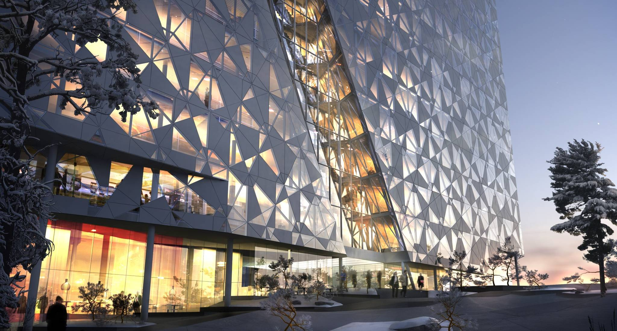 Deloitte Headquarter In Oslo By Snhetta