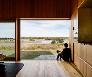 Denison Rivulet Cabins by Taylor and Hinds