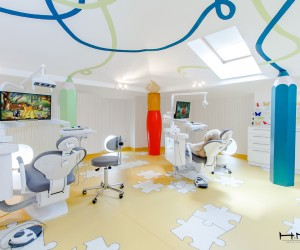 Dental clinic for children with a gorgeous design