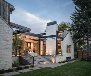 Denver Hilltop House Designed to Support a Growing Family