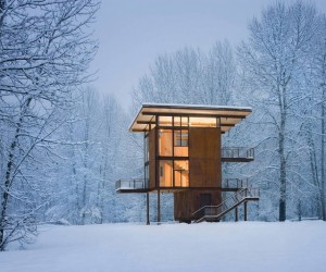 Design Cabin On Stilts