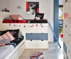 Design ideas for a boys bedroom