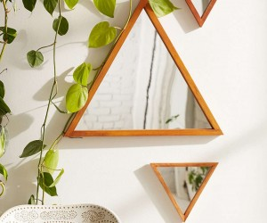 Design Trend: Small Geo Mirrors