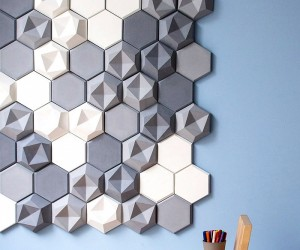 Designing on the edge: stunning concrete tiles from Kaza