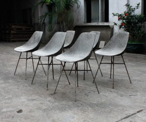 DHauteville Concrete Chair