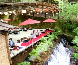 Dine Atop a Waterfall at These Kawadoko Restaurants Hidden in Kyotos Mountains