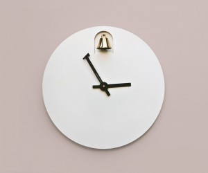 Dinn Wall Clock by Alessandro Zambelli