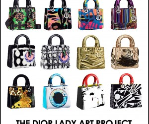 Dior Lady Art Project: 7 Designers Reimagine The Iconic Bag