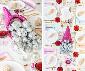 Disco Ball Themed Crafts