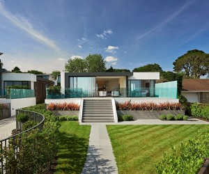 Distinguished Pair of Homes with Contemporary Appeal Collecting UK Coastline Panoramas