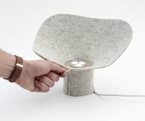 Dita Felt Lamp by DsormeauxCarrette