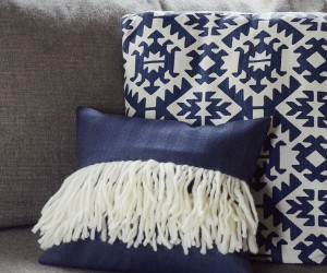DIY Boho Fringe Pillow Cover
