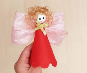 DIY Christmas Doll Ornament for Tree