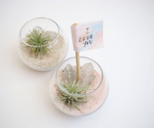 DIY Crystal Quartz Planter