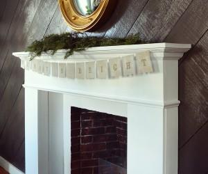 DIY Custom Christmas Banner