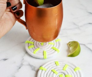 DIY fun coasters for your home and office