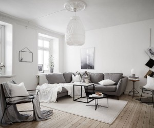 DIY Ideas for Scandinavian Styled Living Rooms