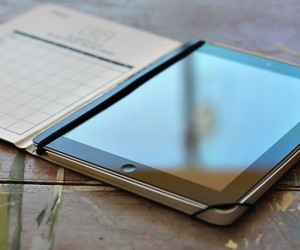 DIY iPad Cover Tutorial From Composition Notebook