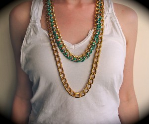 DIY Jewelry Involving Chains
