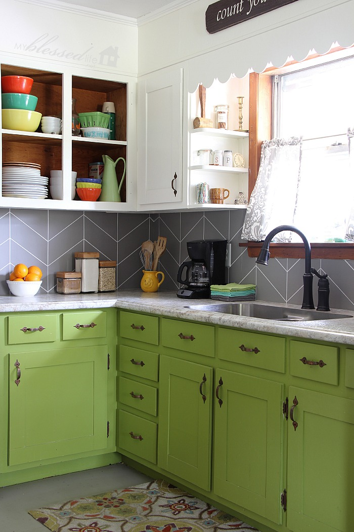 Kitchen Backsplash Diy Ideas Part - 37: Materialicious
