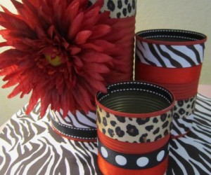 DIY Leopard Print Decor and Housewares