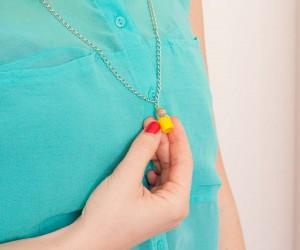 DIY Mini Bottle Pendant Necklace
