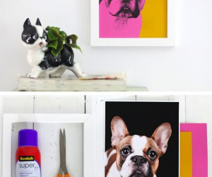 DIY Pop Art Inspired Home Dcor