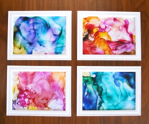 DIY Projects Using Alcohol Inks