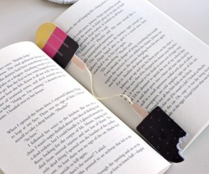 DIY Scratch-and-sniff Bookmarks
