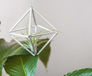 DIY Silver Hanging Himmeli