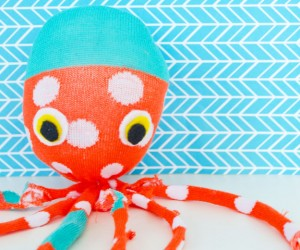 DIY Sock Octopus Plush