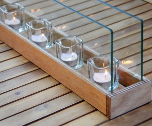 DIY Votives Outdoor Lighting
