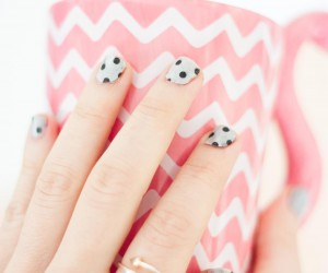 DIY Washi Tape Nail Art