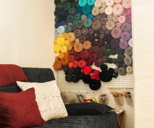 DIY Yarn Storage Ideas