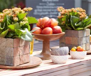 DIY:Tile Flower Vase Surround