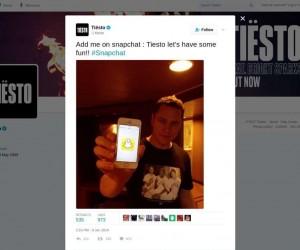 DJ Tisto Snapchat