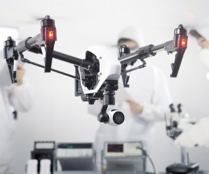 DJI Inspire 1 drone with a 4K camera