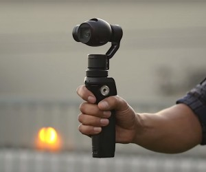 DJI Osmo Is Ultimate Brushless Gimbal With a Handheld 4k Camera