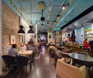 Dogs & Tails Bar and Cafe in Kiev by Sergey Makhno