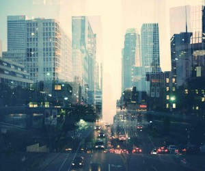 Double Exposure Cityscapes of Los Angeles by Anthony Samaniego