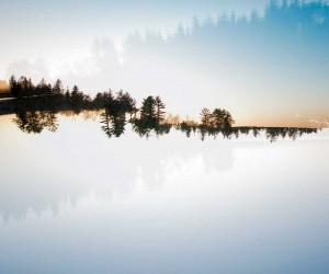 Double Exposure Landscapes by Patrick Lienin