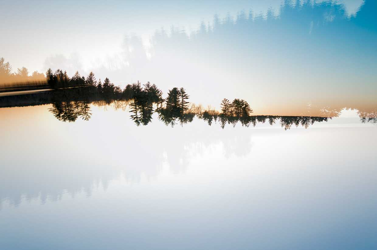 Double Exposure Landscapes By Patrick Lienin