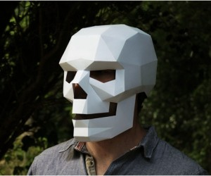 Downloadable 3D Masks, by Wintercroft