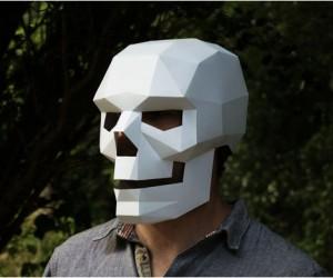 Downloadable 3D Masks, by Wintercroft